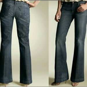 Citizens of Humanity Dunaway Flare Jeans Blue 26